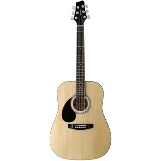 Stagg SW201 3/4 LH N Natural Left-handed 3/4 Size Dreadnought Acoustic Guitar