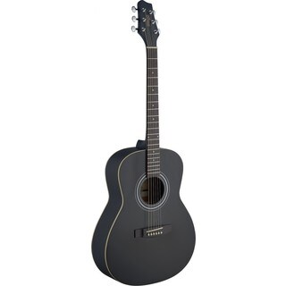 Stagg SA30A-BK Black Wood Auditorium Acoustic Guitar