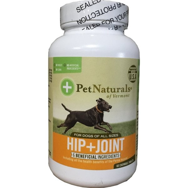 Pet Naturals 60-count Hip and Joint Supplement Tablets for Dogs