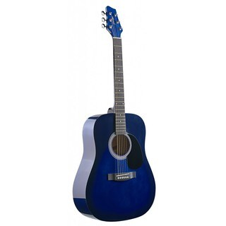 Stagg SW201BLS Blueburst Dreadnought Acoustic Guitar