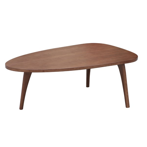 Fine Mod Imports Holland Walnut Coffee Table