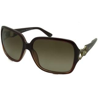 Ferragamo Women's SF620SR Rectangular Sunglasses