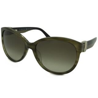 Ferragamo Women's SF651S Aviator Sunglasses