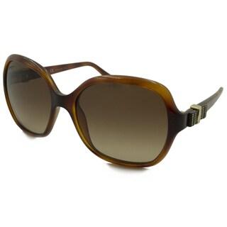 Ferragamo Women's SF761S Rectangular Sunglasses