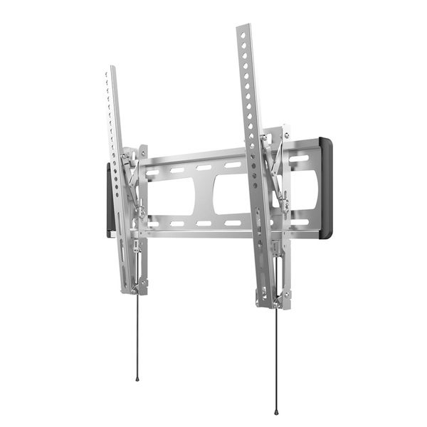 Loctek O1T 32-inch to 50-inch Stainless Tilt LCD LED Monitor Outdoor TV Wall Silver Mount Bracket