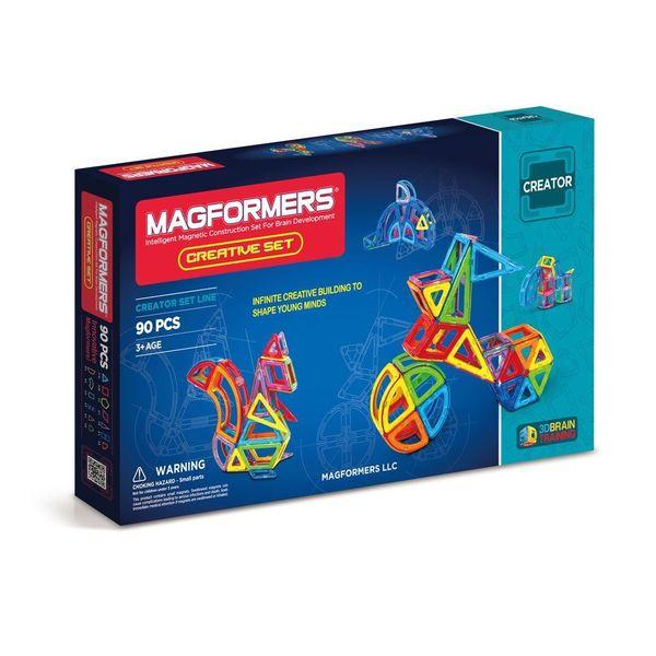 Magformers Creative Multicolored Plastic 90-piece Set 19419717