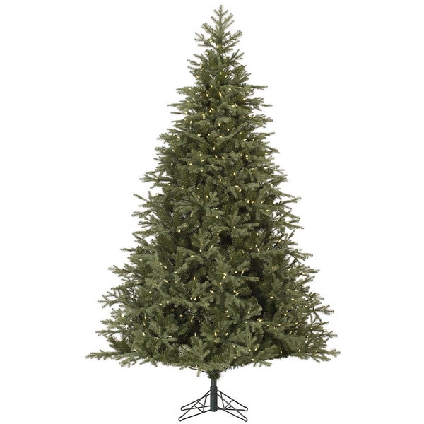 Vickerman Green 7.5-foot Elk Frasier Fir Artificial Christmas Tree with 700 Warm White LED Lights