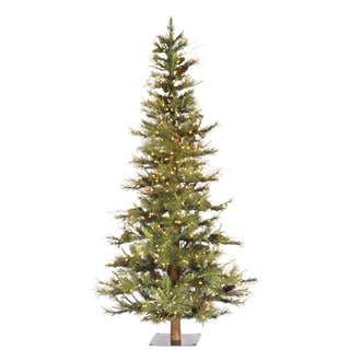 7 5 Foot Artificial Christmas Tree Multi Colored Lights