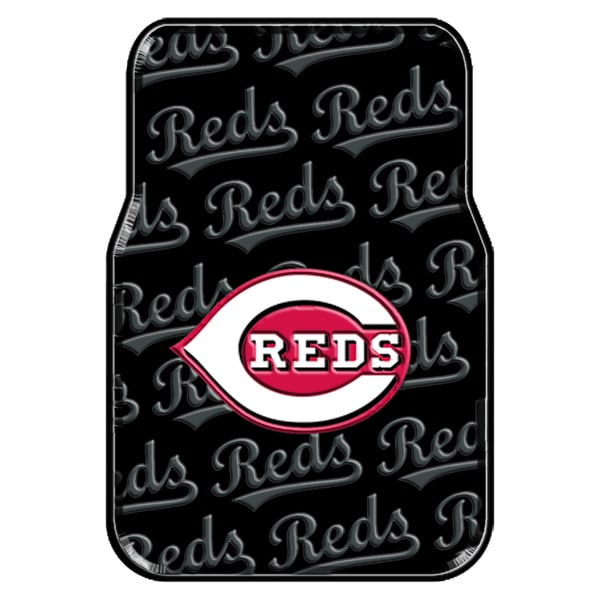 The Northwest Company MLB 343 Reds Car Front Floor Mats