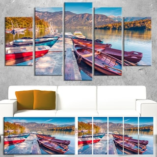 Bohinj Lake in Morning - Landscape Large Wall Art