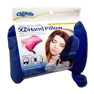 Cloudz On-Hand Microbead Pillow (Pink or Navy)