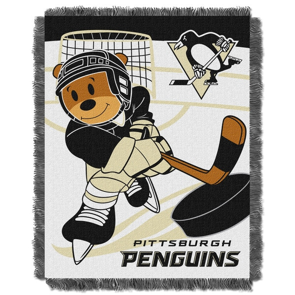 NHL 044 Penguins Baby Throw