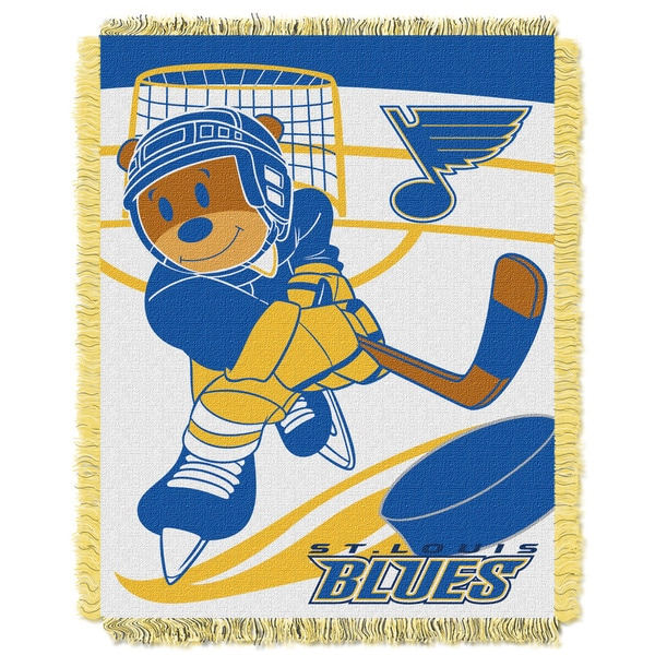NHL 044 Blues Baby Throw