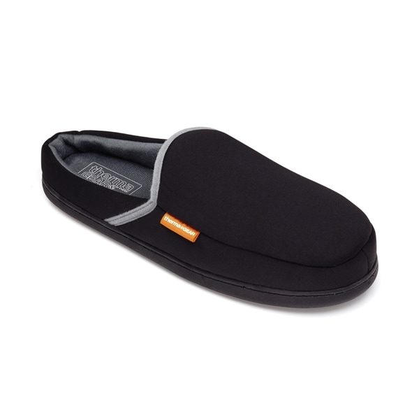 ThermaGear Unisex Black Polyester Heated Slippers