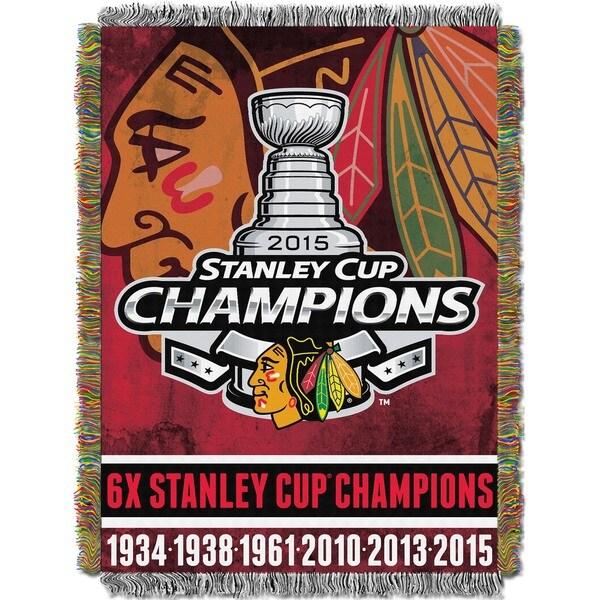NHL 051 Blackhawks Commemorative Throw 19421537
