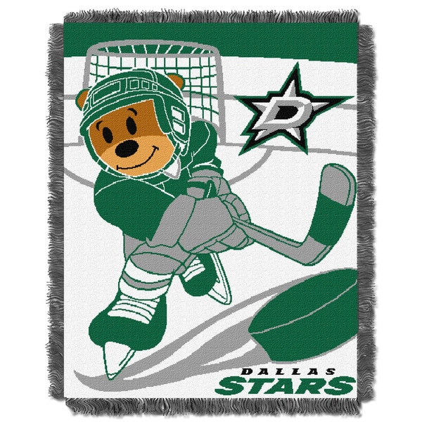 NHL 044 Stars Baby Throw