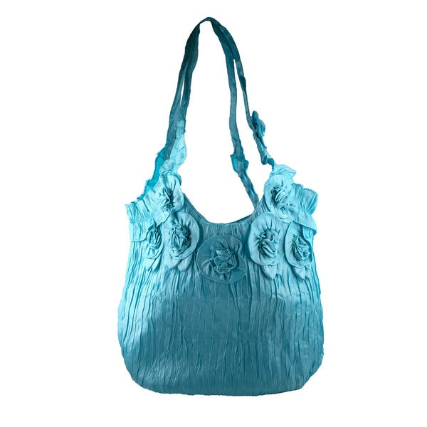 Blue Raspberry Fashion Tote Bag