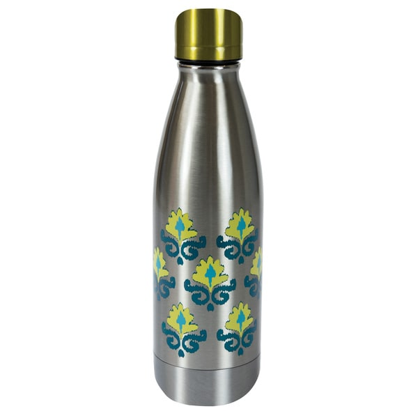 Stainless Steel Double Wall 17-ounce Flowers Bottle 19422226