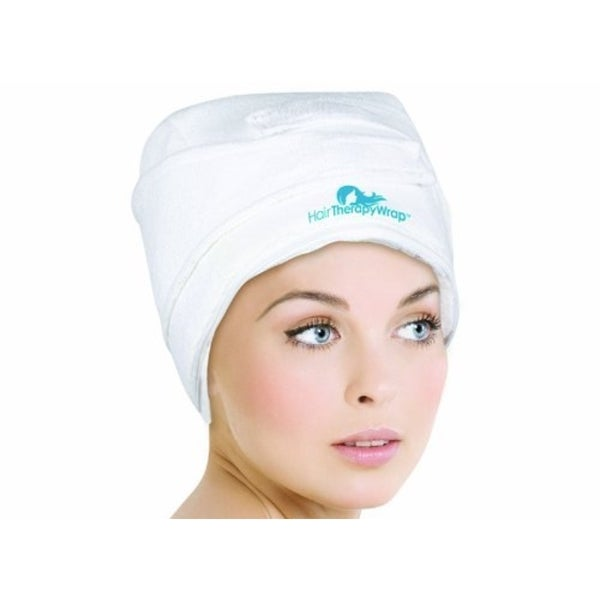 Hair Therapy Heat Wrap White