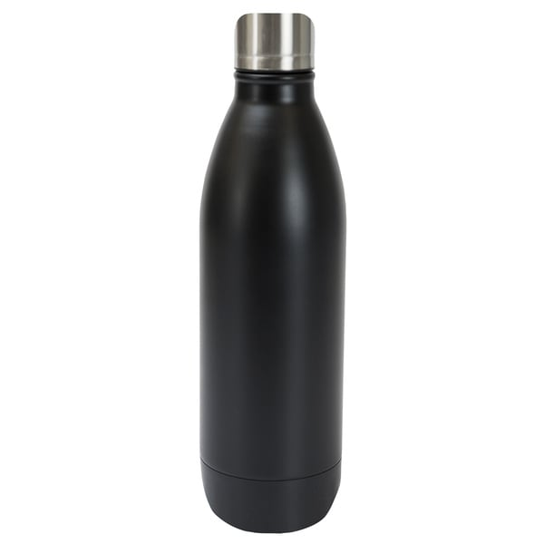 Black Stainless Steel 25-ounce Double Wall Bottle 19422415