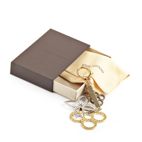Louis Vuitton Brass and Stainless Steel Bag Charm