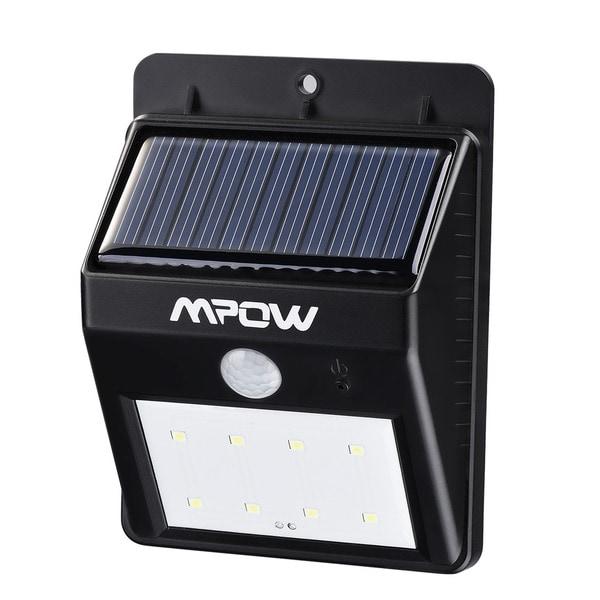 Mpow Solar-powered Wireless Outdoor Motion Sensor Light 19422731