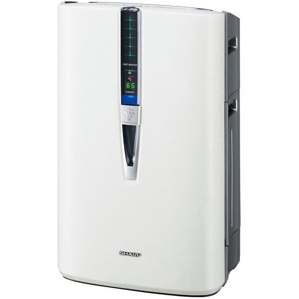 Sharp Triple Action Plasmacluster White Plastic/Metal 341-square foot Air Purifier with Humidifying Function 19422979