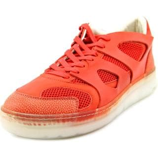 Alexander McQueen By Puma Men's 'McQ Move Lo' Leather Athletic Shoes