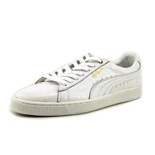 Puma Men's 'Basket Classic x S' Leather Athletic Shoes