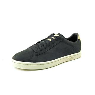 Puma Men's 'Court Star Clean' Leather Athletic Shoes
