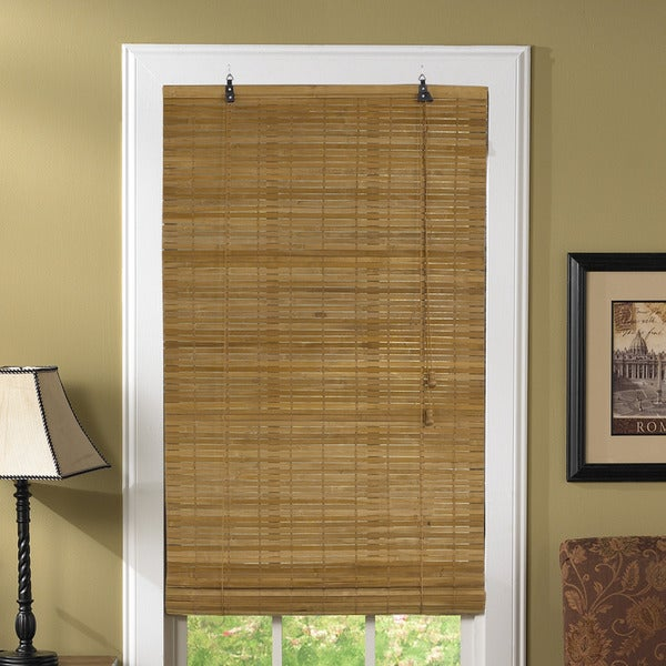 Lewis Hyman Venezia Flatstick Bamboo Spice Roll-Up Blind