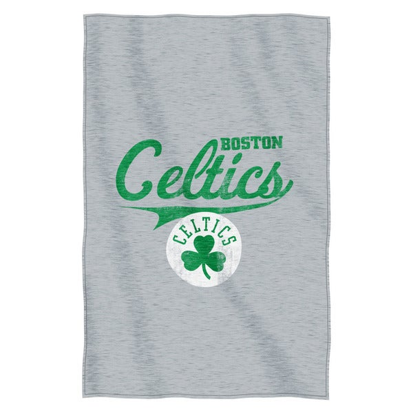NBA 100 Celtics Sweatshirt Throw
