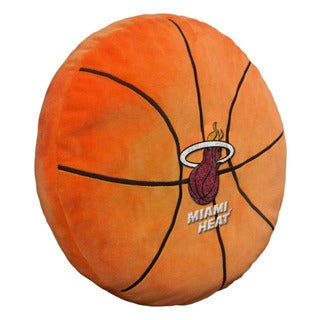 The Northwest Company NBA 199 Heat 3D Polyester Sports Pillow