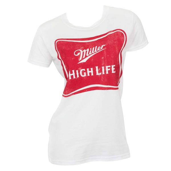 Women's Miller High Life White T-shirt