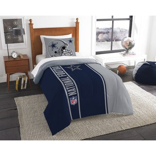 The Northwest Company Official NFL Cowboys Twin Applique Comforter and 1 Sham Set