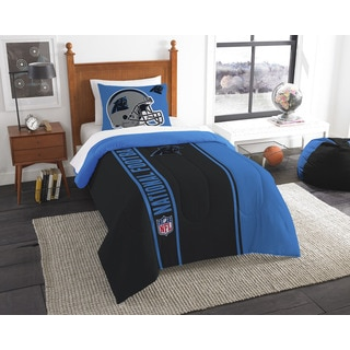 The Northwest Company Official NFL Panthers Twin Applique Comforter and 1 Sham Set