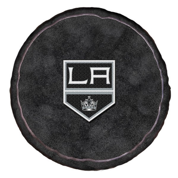 The Northwest Co Black/White/Silver Polyester NHL 199 LA Kings 3D Sports Pillow