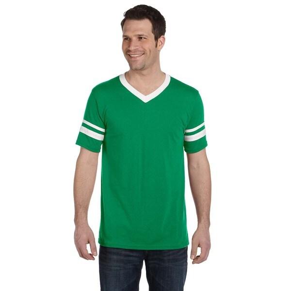 Men's Kelly White Sleeve Stripe Jersey