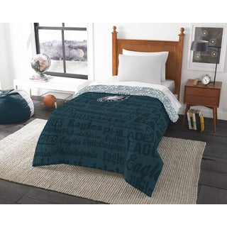 The Northwest Company Official NFL 876 Eagles Anthem Twin Comforter