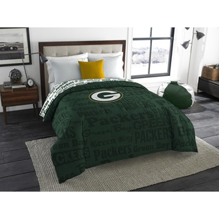 The Northwest Company Official NFL 877 Packers Anthem Full Comforter