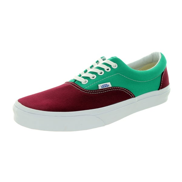 Vans Unisex Era Golden Coast Wine Canvas Skate Shoe