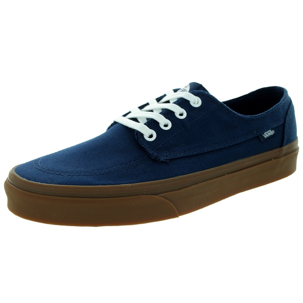 Vans Unisex Brigata Blue Canvas Skate Shoes