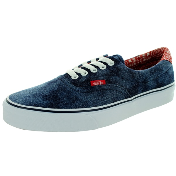 Vans Unisex Era 59 Blue/Bandana Acid Denim Skate Shoe