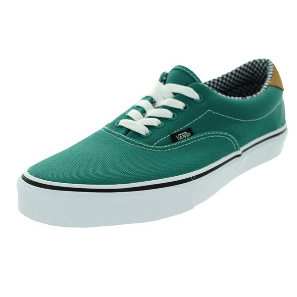 Vans Unisex Era 59 Waxed Canvas Parasailing Green Canvas Skate Shoe