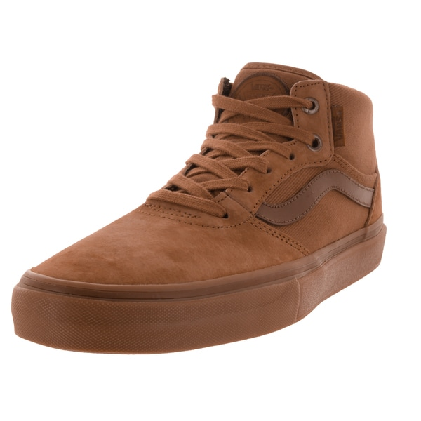 Vans Men's Gilbert Crockett Pro Brown Suede Skate Shoes
