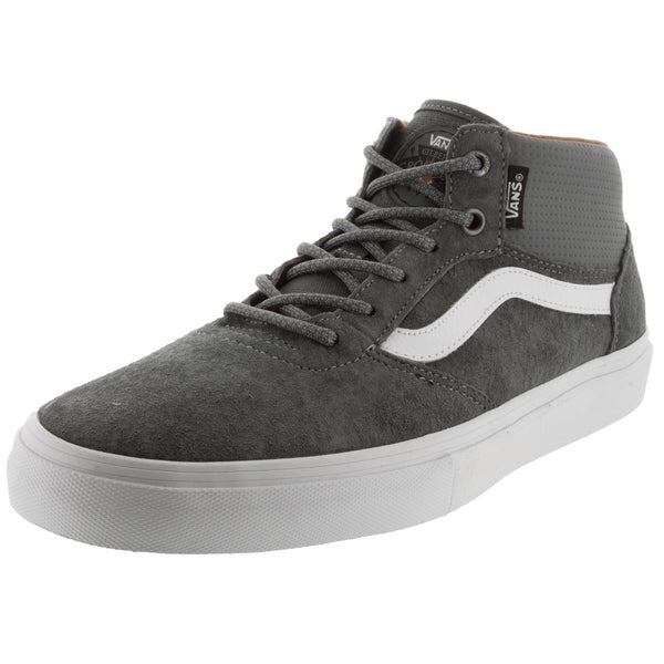 Vans Men's Gilbert Crockett Pro Pewter Grey Suede Skate Shoe