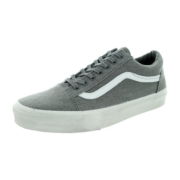 Vans Unisex Old Skool Overwashed Pewter Canvas Skate Shoe