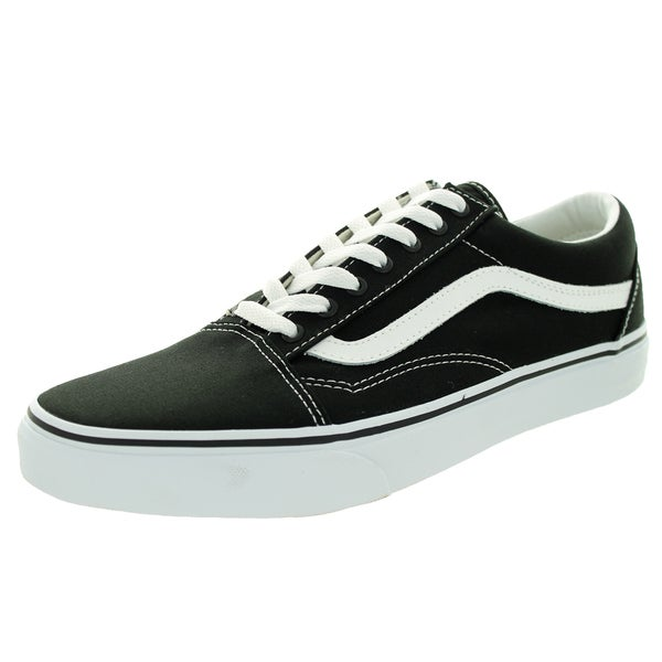 Vans Unisex Old Skool Black/True White Skate Shoe