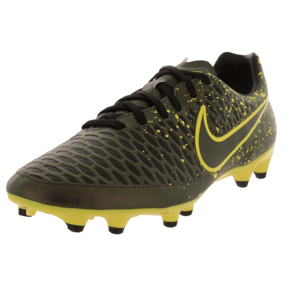 Nike Men's Magista Onda Firm Ground Dark Citron/Black/Volt Soccer Cleats