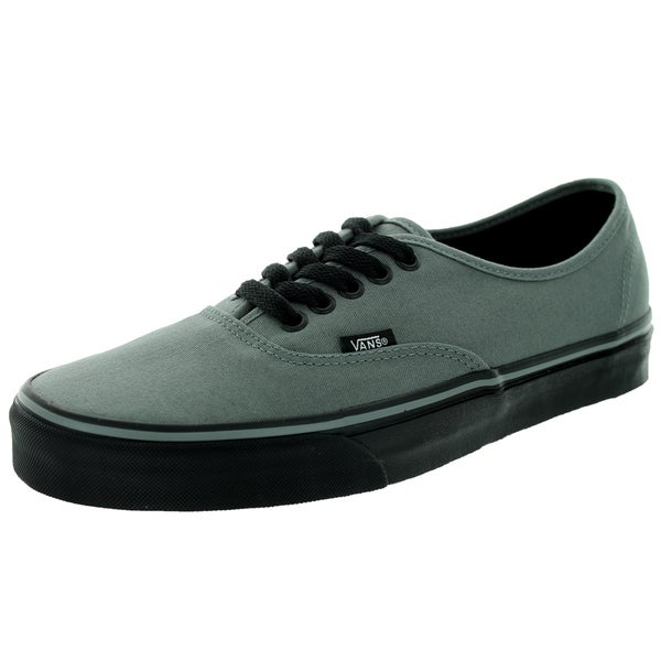 Vans Unisex Authentic Black-sole Sedona Sage Canvas Skate Shoes